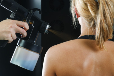 Spray Tanning in der beauty & sun lounge